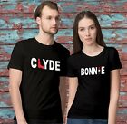 Bonnie and Clyde - Valentine's Day Funny Matching T-Shirts for Couples!