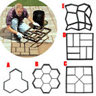 Внешний вид - Garden Paving Pavement Mold Patio Concrete Stone Walk Path Maker Reusable Mould
