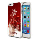 Personalised Xmas Phone Case Cover for Apple Samsung Initial Text Name - 83