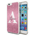 Personalised Marble Phone Case Cover for Apple Samsung Initial Text Name - E27