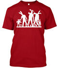 The Walking Easter Bunny Zombie Funny Hanes Tagless Tee T-Shirt