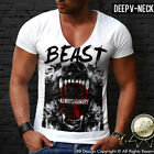 Rottweiler White Mens T-shirts Dog Print Designer Brand Tee Street Style Top 010