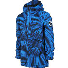 VOLCOM Mens 2019 Snowboard Snow FIFTY FIFTY INSULATED JACKET Blue Tie-Dye