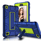 For Amazon Kindle Fire 7 7th Gen 2017 Shockproof Stand Case + Screen Protector