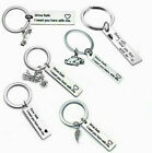 Keyring Drive Safe I Need You Here With Me Heart Charm Keychain New Driver Gift