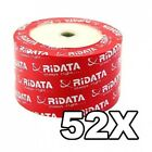 Ritek Ridata 52X CDR (CD-R) 80min 700MB (Shrink Wrap) Wholesale