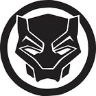 Window Wall Display Vehicle Display The Black Panther Logo Decal Vinyl Sticker