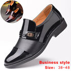 Men Casual Oxfords Pointed Toe Formal Leather Shoes Wedding Business Dress Shoes