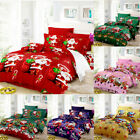 Bedding Set Warm Gift Duvet Cover 2Pillowcases Bed Sheet Home Decorations U3N4 image