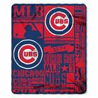 Mlb Strength Fleece Throw Blanket 50-Inch By 60-Inch Chicago Cubs on Ebay