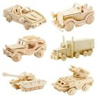 3D Wooden Puzzle Military Cars Adult Assembly Puzzle 8 Different Choices