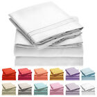 Mellanni 4 Piece Microfiber Bed Sheet Set- Deep Pocket, Wrinkle, Stain Resistant image