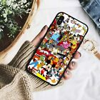 For iPhone X 8 7 6S Plus S9 S8+ Note 9 Rubber TPU Disney All character  Case