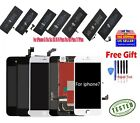 LCD Screen Digitizer Assembly & Battery Replacement for iPhone 6s 5 6 6S 8P lot