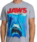 Jaws Vintage style Original classic Movie 70's Shark T-Shirt, up to size 3XL image