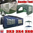 For Outdoor Party Tent PE Garden Gazebo Marquee Canopy Awning With Full Sidewall