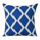 18'' Linen Cotton Geometry Throw Pillow Case Cushion Cover Home Sofa Decoration