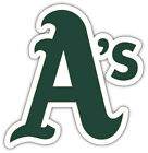 "Oakland Athletics MLB Baseball Car Bumper Sticker Decal ""SIZES"" ID:4 on Ebay"