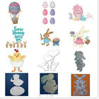 Easter Bunny Chick Metal Cutting dies Scrapbooking Album Handcrafts Embossing