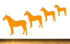 Standing Horse Vinyl Wall / Window Stickers In 5 Sizes + 15 Colours Pets Animal