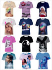 New Fashion Women/Men's Sexy Ariana Grande 3D Print Casual Summer T-Shirt S-4XL