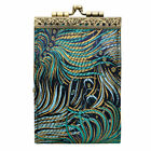 Women's French Ten Slot Accordion Style Credit Card Wallet