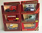 Models of Yesteryear; Y30 AC Mack, Y20 Model A Ford, AEC Bus,Y25 Renault & Y29
