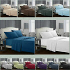 Sofa Comfort 1800 Count 4 Piece Deep Pocket Bed Sheet Set Twin Queen King Size image