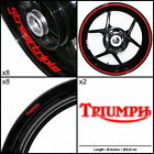 EXP Triumph Speed Triple Motorcycle Sticker Decal Graphic kit SPKFP1TR006 $104.8 CAD on eBay