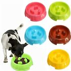 Slow Down Eating Dog Cat Bowls Pet Anti-choke Feeders Skid-proof Pet Supplies