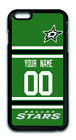 NHL Dallas Stars Personalized Name/Number Apple iPhone Back Case 162905 $12.99 USD on eBay