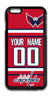 NHL Washington Capitals Personalized Name/Number iPhone iPod Case 160606 $12.99 USD on eBay