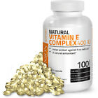 Natural Vitamin E Complex 400 IU (D-alpha Tocopherol) by Bronson $14.99 USD on eBay