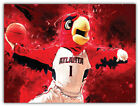 "Atlanta Hawks NBA Basketball Car Bumper Sticker Decal ""SIZES"" ID:9 on eBay"