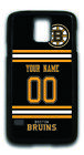 NHL Boston Bruins Personalized Name/Number Samsung Phone Case 162509 $12.99 USD on eBay