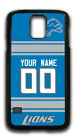 NFL Detroit Lions Personalized Name/Number Samsung Phone Case 152211 $12.99 USD on eBay
