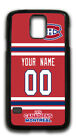 NHL Montreal Canadiens Personalized Name/Number Samsung Phone Case 16100 $12.99 USD on eBay