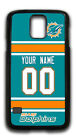 NFL Miami Dolphins Personalized Name/Number Samsung Phone Case 150206 $12.99 USD on eBay