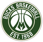 "Milwaukee Bucks NBA Basketball Car Bumper Sticker Decal ""SIZES"" ID:8 on eBay"