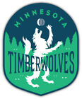 "Minnesota Timberwolves NBA Basketball Car Bumper Sticker Decal ""SIZES"" ID:1 on eBay"