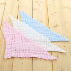 Baby Gauze Muslin Washcloth Triangle Bib Newborn Cotton Bib Towel Supplier
