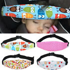 Infants Safety Strap Baby Protection Pad Sleep Head Support Car Seat Head Belt
