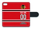 NHL Chicago Blackhawks Personalized Name/Number iPhone iPod Wallet Case 160326 $17.99 USD on eBay