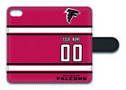 NFL Atlanta Falcons Personalized Name/Number iPhone iPod Wallet Case 152514 $17.99 USD on eBay
