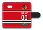 NHL Chicago Blackhawks Personalized Name/Number Samsung Phone Wallet Case 160326 $15.99 USD on eBay
