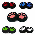 '1 X Pair Of Paw Print Nintendo Switch Controller Thumb Grips Pads Analog Cover