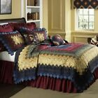 FARMHOUSE COUNTRY PRIMITIVE CHESAPEAKE TRIP QUILTED BEDDING COLLECTION image