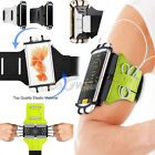 Rotating Sports Running Jogging Gym Armband Workout Case Holder For Cell Phones