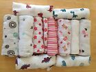 "Внешний вид - NEW ADEN and ANAIS Muslin Cotton Boutique Swaddle Blanket 47""x 47""  You Pick"