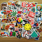 25/50/100/200pcs Skateboard Sticker Graffiti Laptop Car Luggage Decals Stickers